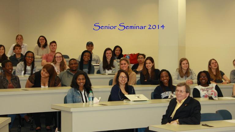 2014Class-SeniorSeminar