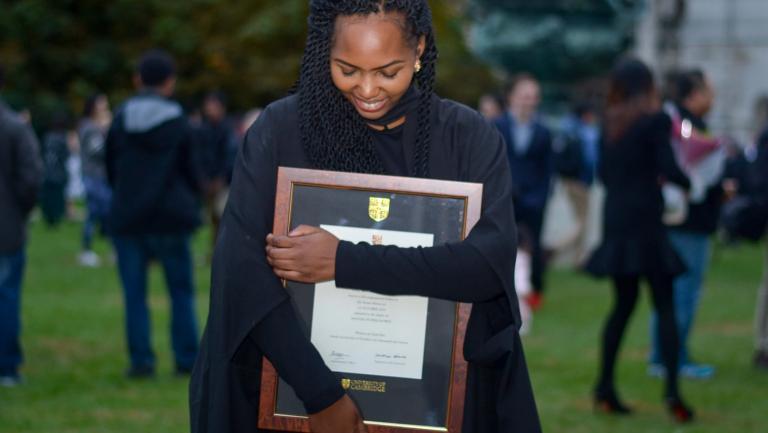 Recent Alumni Graduate